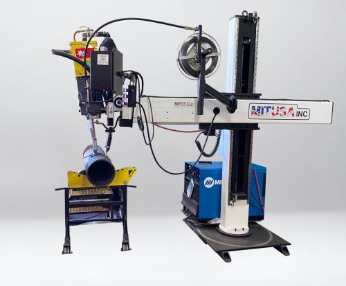 Custom Pipe Welding Automation System Builder